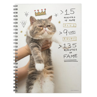 Internet Cat Celeberity Notebook
