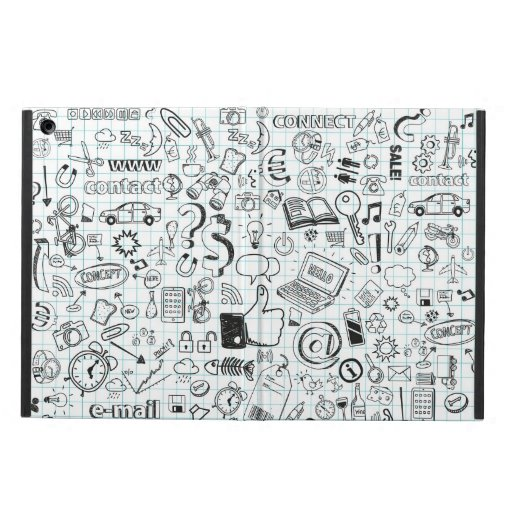 Internet doodles cover for iPad air