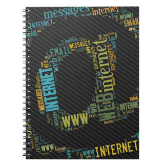 Internet Email Typed Text Symbol | Geek Notebook