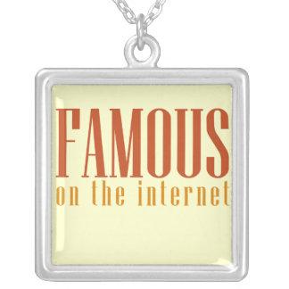 Internet Famous Square Pendant Necklace
