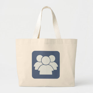 Internet Forum Icon Tote Bags