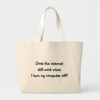internet jumbo tote bag