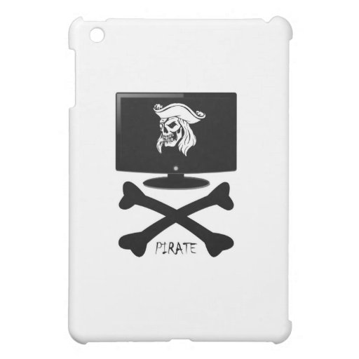 Internet Pirate Skull Shirt Case For The iPad Mini
