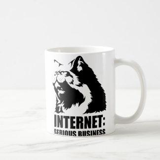 Internet: Serious Business (lolcat funny tshirt) Coffee Mug