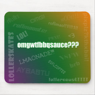 Internet Slang Mousepad