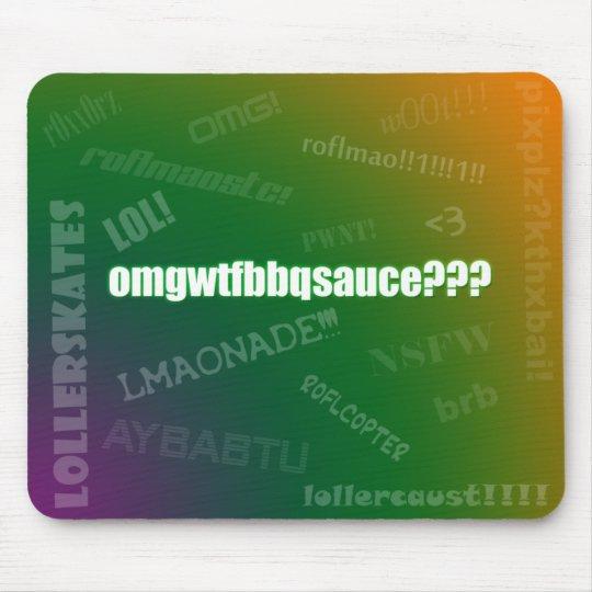 Internet Slang Mousepad