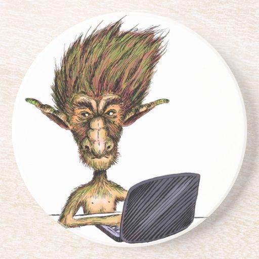 Internet Troll Drink Coasters