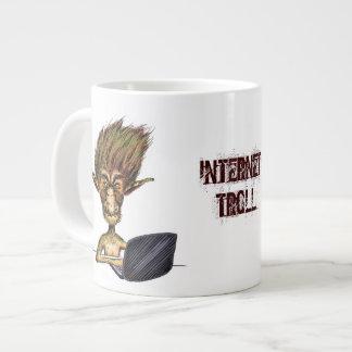 Internet Troll 20 Oz Large Ceramic Coffee Mug