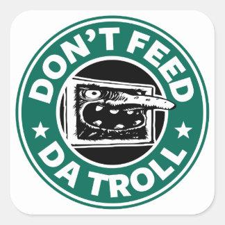 Internet Troll Square Sticker