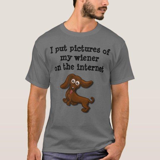 Internet wieners, funny dachshund T-Shirt