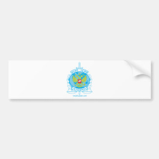 interpol russia badge bumper sticker