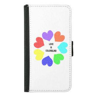 Interracial Love Rainbow Hearts Samsung Case