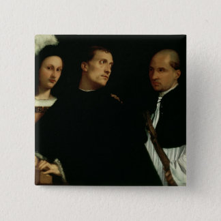 Interrupted Concert, c.1512 15 Cm Square Badge