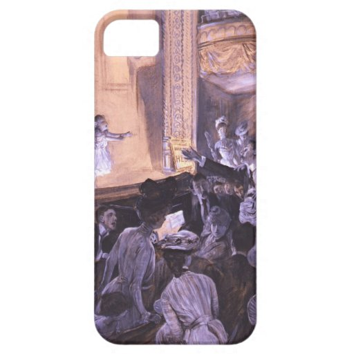 Interrupted Performance 1901 iPhone 5 Case