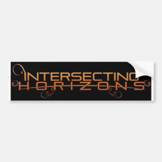 Intersecting Horizons Bumper Sticker