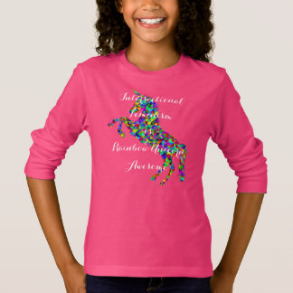 Intersectional Feminism is Rainbow Unicorn Awesome T-Shirt