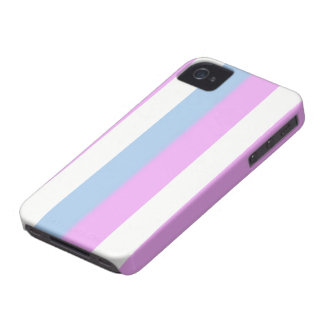 Intersex flag Blackberry Bold case