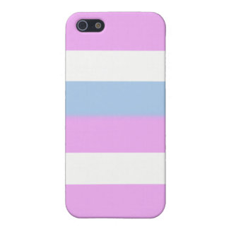 Intersex flag iPhone 5/5S cases