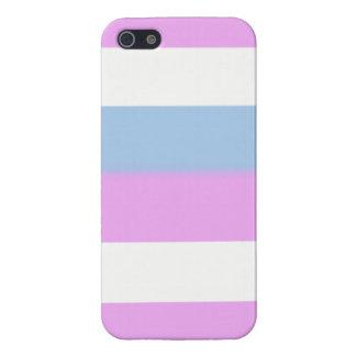 Intersex flag iPhone 5 cases