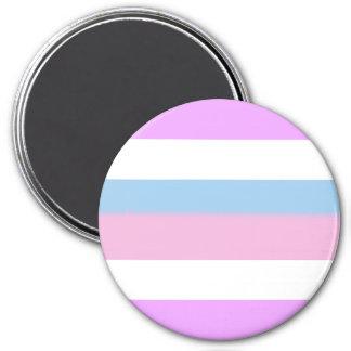 Intersex Pride Flag 7.5 Cm Round Magnet