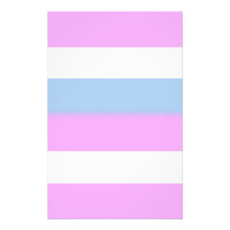 Intersex pride flag personalized stationery