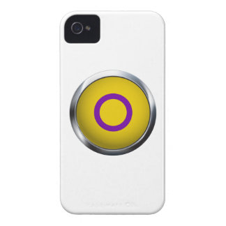 INTERSEX PRIDE MEDALLION iPhone 4 COVERS