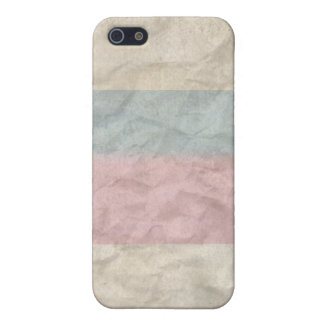 INTERSEX PRIDE VINTAGE DESIGN COVER FOR iPhone 5