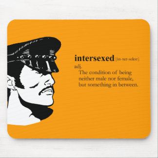INTERSEXED MOUSE PAD