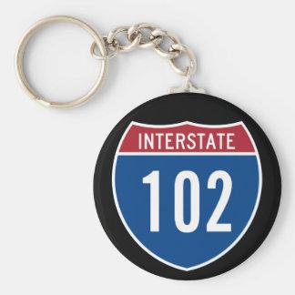 Interstate 102 key ring