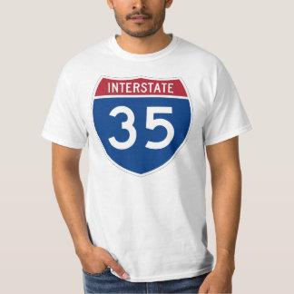 Interstate 35 (I-35) Highway Sign T-Shirt