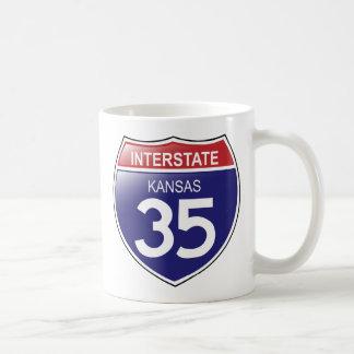 Interstate 35 in Kansas Mug