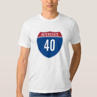 Interstate 40 T-Shirt