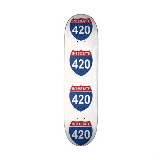 Interstate 420 skate board decks