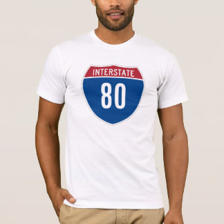 Interstate 80 T-Shirt