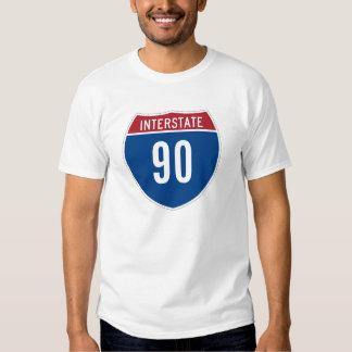 Interstate 90 T-Shirt
