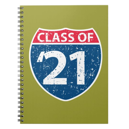 Interstate Class of '21 Notebook