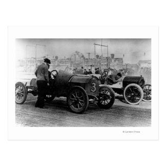 Interstate Fairgrounds Auto Speed Races Postcards