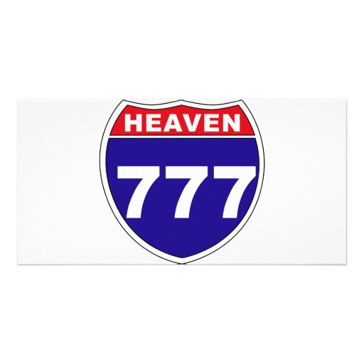 """Interstate"" Heaven 777 Customized Photo Card"