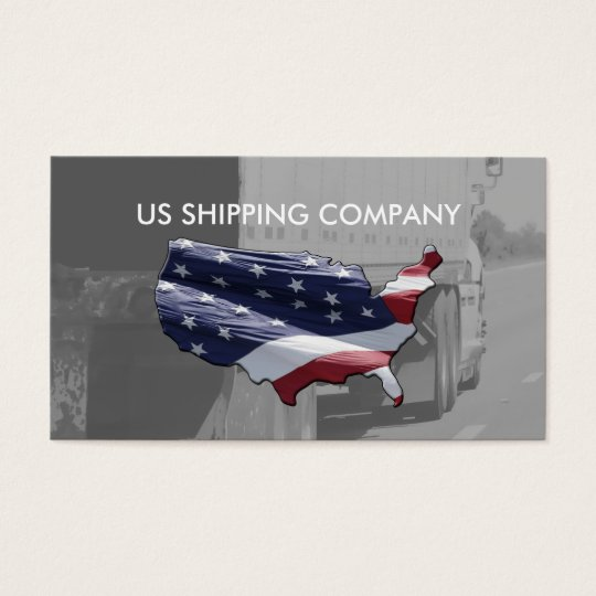 Interstate Shipping Business Cards