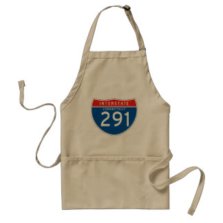 Interstate Sign 291 - Connecticut Apron