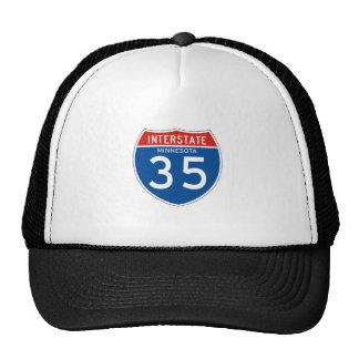 Interstate Sign 35 - Minnesota Cap