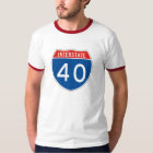 Interstate Sign 40 T-Shirt