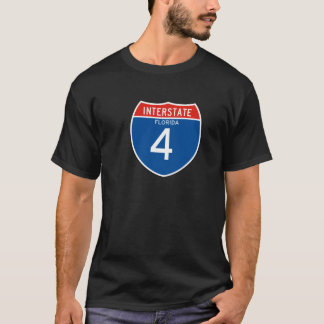 Interstate Sign 4 - Florida T-Shirt