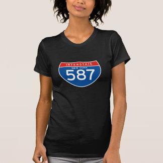 Interstate Sign 587 - New York T-Shirt