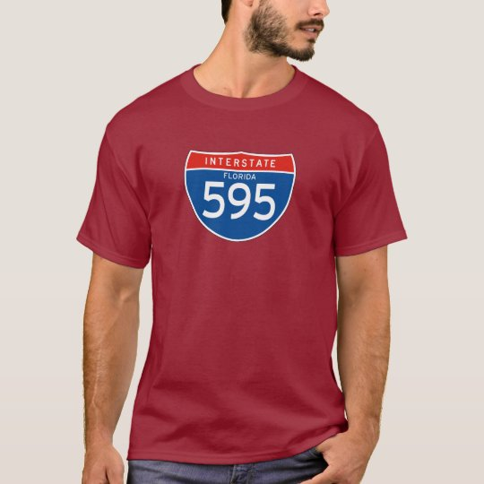 Interstate Sign 595 - Florida T-Shirt