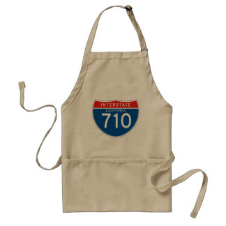Interstate Sign 710 - California Standard Apron