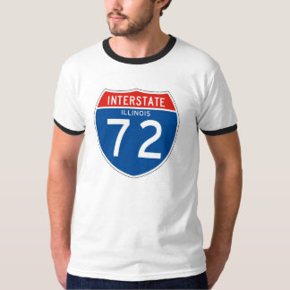 Interstate Sign 72 - Illinois T-Shirt