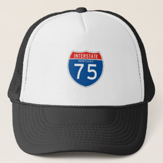 Interstate Sign 75 - Kentucky Trucker Hat