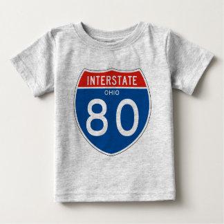 Interstate Sign 80 - Ohio T-shirt