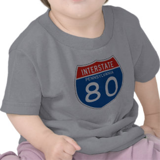 Interstate Sign 80 - Pennsylvania Shirt
